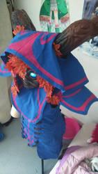 Cosplay Bard ElderWood  - woman by shunette