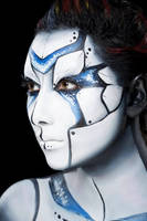 Face Painting Robot by shunette