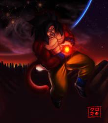 Super Saiyan IV by Kuro-kuma