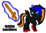 -:Commission: Skillful Loneliness:- by Stella-Artic-Wolf