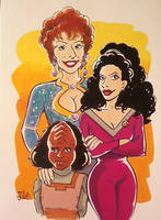 Troi, Troi and Alexander by JulEvo