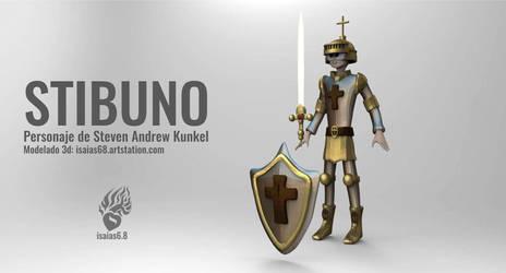 New fanart of Stibuno!!  Nuevo fanart de Stibuno!! by Syunoheishi