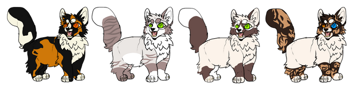 Cat adopts -3/4 Open!- by TraumaDoq