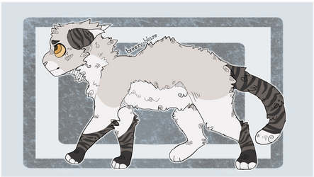 Nervous -cat adopt,open!- by TraumaDoq