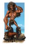 Lobo fan art by Ostrykomiks