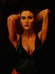 Monica B. w oleju by Ostrykomiks