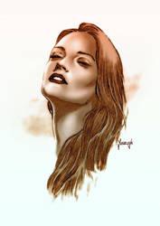 Katy Mor by Ostrykomiks