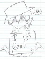 Oz Loves Gil o3o by MsMikaSnow