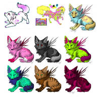Leftover Adopts - 5pts each by Toxyk-Melodi