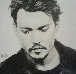 Johnny Depp by larilalui