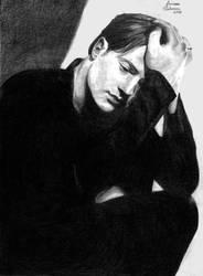 Brendan Fraser by larilalui