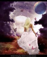 ::Eternity of Evening Sky:: by selenart