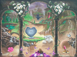 My Imaginary World : center panel by ChristopherPollari