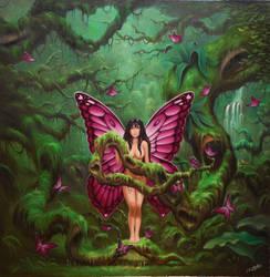 Jungle Fairy. by ChristopherPollari