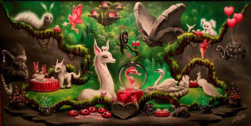The Fairies Annual Tea Party. by ChristopherPollari