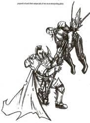 Hoplon Legionary- Preparing for War. by Halcenion