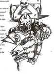 Anaxandrias and his Juggernaut by Halcenion