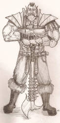 Big Bad Orc by Halcenion