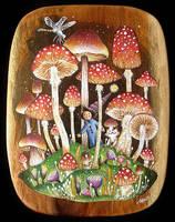 Mushroom Land by frecklefaced29