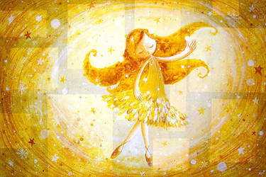 Ballerina by frecklefaced29