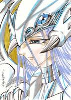 Kisara Blue Eyes White Dragon by MajinLu