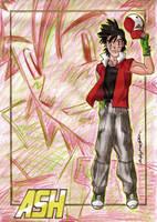 Pokemon Years Later -  Ash by MajinLu