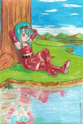 Princess Bura by MajinLu
