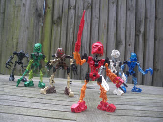 The Toa Mata by KrytenMarkGen-0