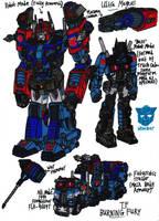 Transformers Burning Fury - Ultra Magnus by KrytenMarkGen-0