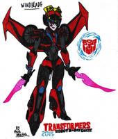 Transformers Robots in Disguise (2015) - Windblade by KrytenMarkGen-0