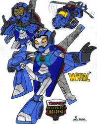 TF Rescue Bots Academy - Whirl by KrytenMarkGen-0