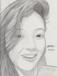 Portrait Pencil #10 by Herleos