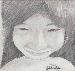 Portrait Pencil #11 by Herleos