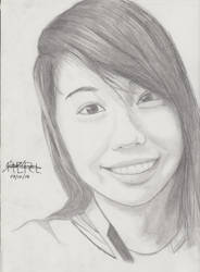 Portrait Pencil #13 by Herleos