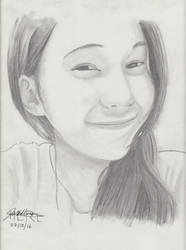 Portrait Pencil #14 by Herleos