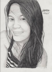 Portrait Pencil #16 by Herleos