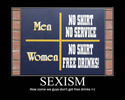 Sexism Demotivational poster by fijiwater33