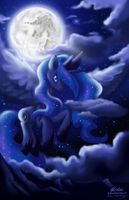 Luna - Goddess of the Night and Moon by SouthParkTaoist