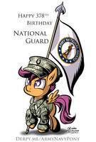 Happy 378th Birthday National Guard by SouthParkTaoist