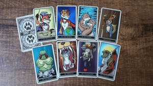 Journey of the Animal (Furry) Major Arcana by SouthParkTaoist