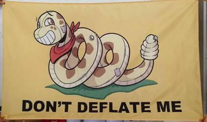 Flag Design - Don't Deflate Snake by SouthParkTaoist