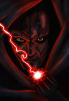 Star Wars Darth Maul by SpeedRain