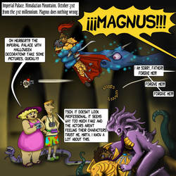 023 (Flashback 31K) Halloween en Terra by marinaizarne