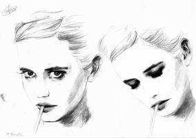 Eva Green by under-the-illusion