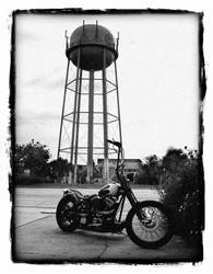 All along the water tower by whiplashbikerphotog