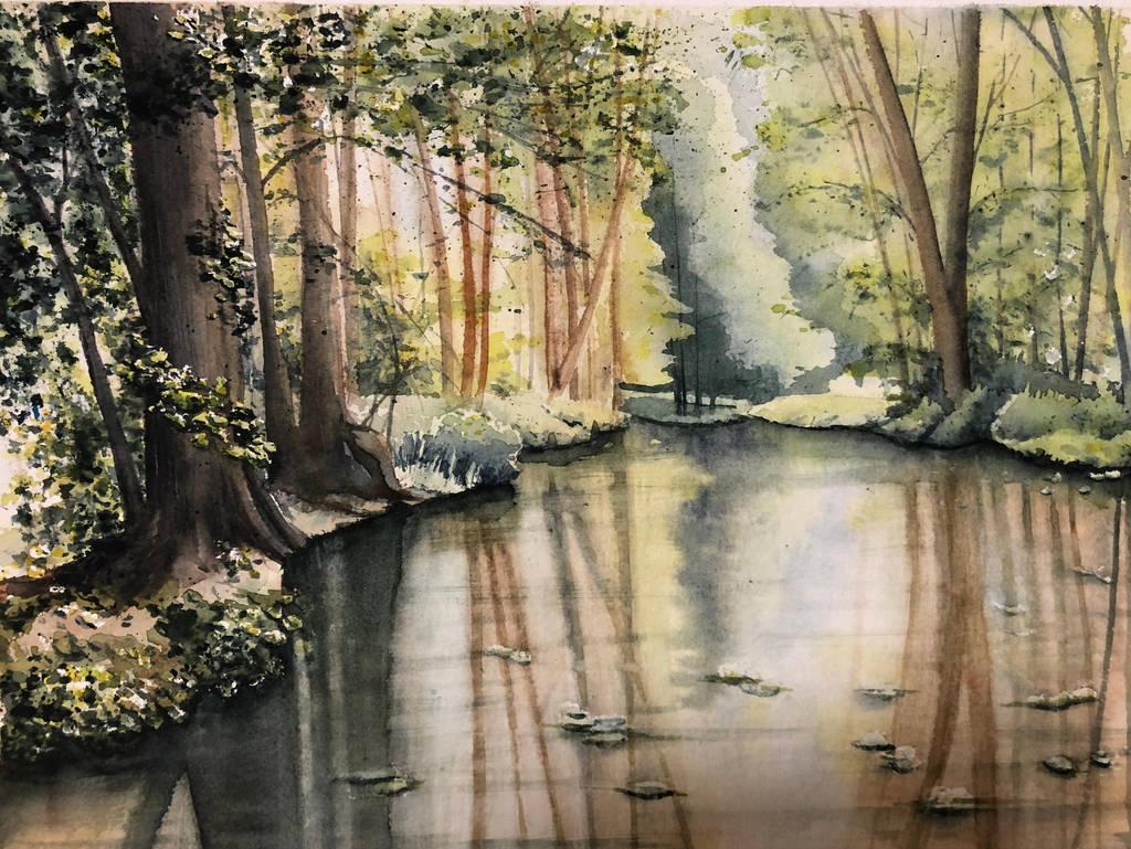 Yet More Woods by aalcalinaa