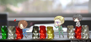 APH: The Axis Gummy Bears by d-aiki