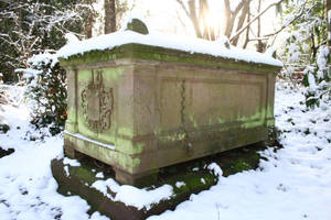 Winter cemetery stock 14 by Malleni-Stock