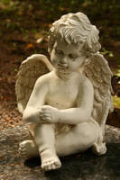 Angel statue stock 11 by Malleni-Stock