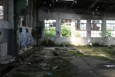 Industrial decay Stock 37 by Malleni-Stock